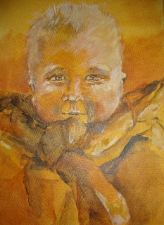 Portret kleinzoon